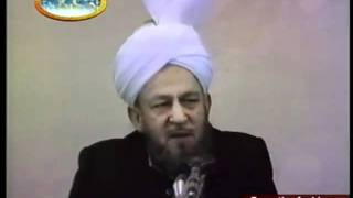 Friday Sermon 11 April 1986.