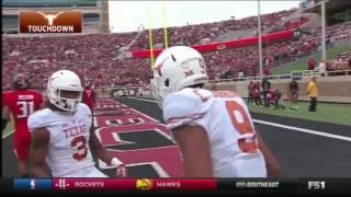 Texas at Texas Tech  2016 Big 12 Football Highlights