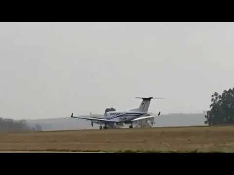 Vídeo mostra acidente aéreo que matou acionista da Cosan (14/09/2021)