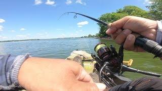 Grand Lake White Bass Fishing - OOW Outdoors