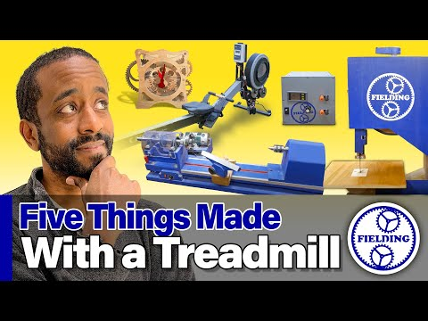 Five Things You Won't Believe Were Made From A Treadmill. #056