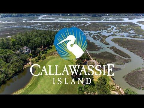 Callawassie Island, SC Golf Course - 843 Aerial LLC