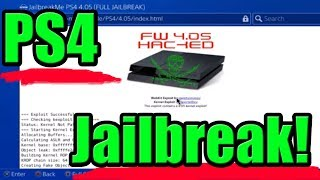 PS4 Jailbreak (4.05) - Mods Info! +Download