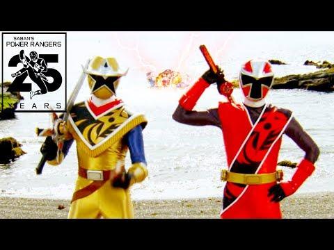 Power Rangers Ninja Super Steel | All Morphed Fights | Episodes 1-8