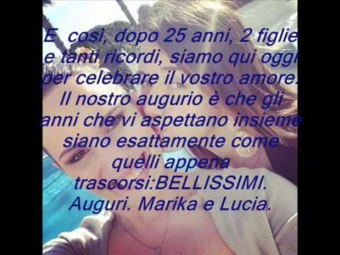 Simple 25 anni di matrimonio regali with 25 anni di for Idee regalo per 25 anni matrimonio