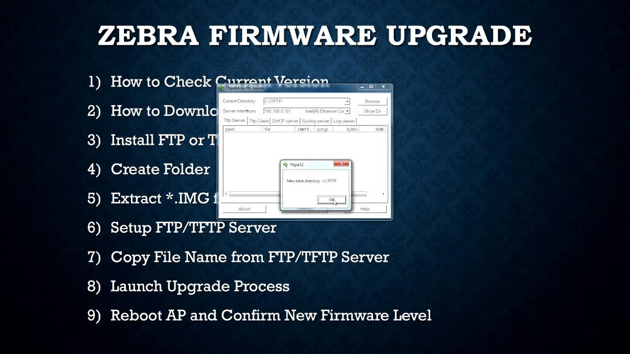 How to update firmware - Zebra WiNG Express