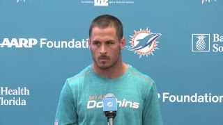 Dolphins Live: Frank Gore And Danny Amendola Meet With The Media