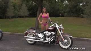 Used 2011 Harley Davidson Softail Deluxe Motorcycle for sale