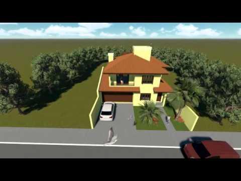 Plan de maison avec 2 chambres et 1 suite codio 014 youtube for Plan maison 6 chambres