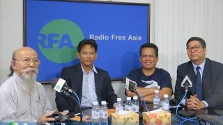 Dr. Lao Mong Hay, Dr. Kem Ley, Dr. Sok Touch RFA