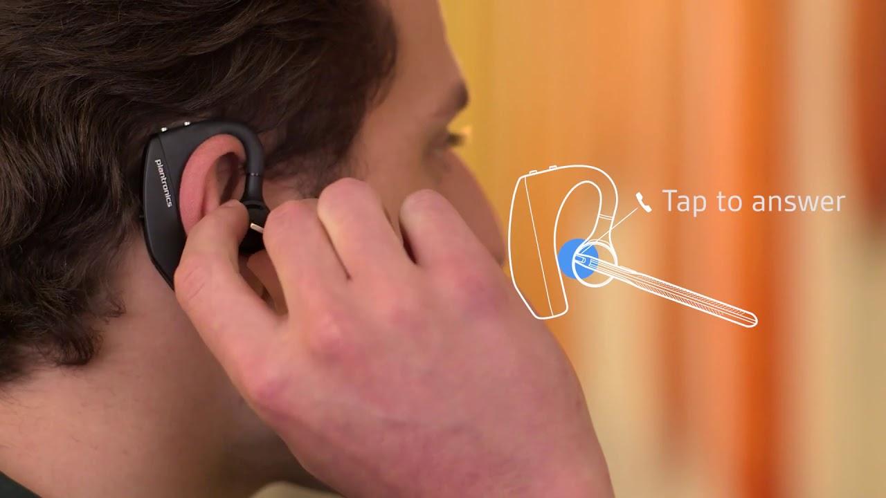 Plantronics Voyager 5200 Uc Bluetooth Headset System 206110 101