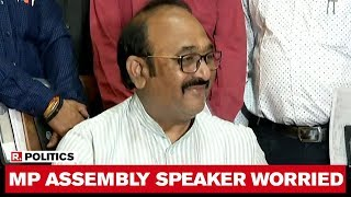 'Why Are They Not Contacting Me Directly?': MP Assembly Speaker NP Prajapati Over MLAs Resigning