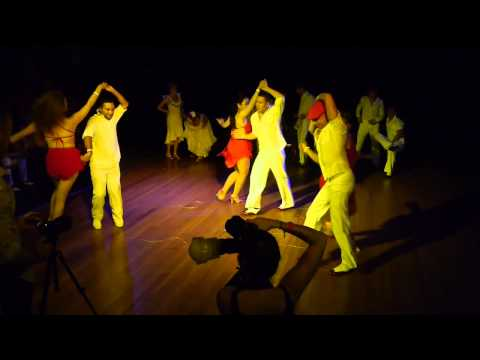 History of Cuban Dance Show - Sydney Cuban Salsa Congress 2012