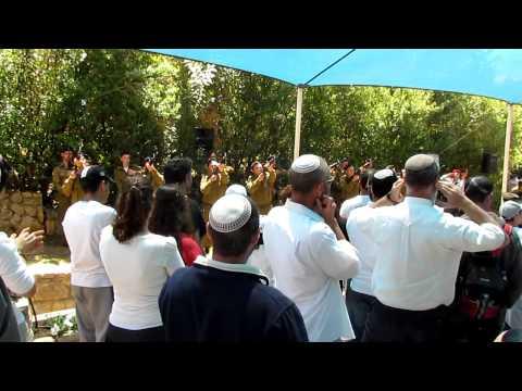 IDF Gunshots during Israeli Memorial Day Ceremony