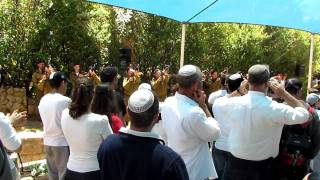 IDF Gunshots during Israeli Memorial Day Ceremony