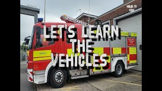 Let's Learn the Vehicles - For Kids 🚒