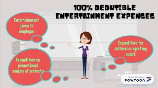 TUTORIAL TAX- ENTERTAINMENT EXPENSES