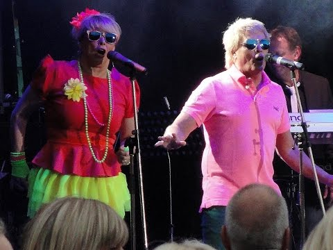 Bucks Fizz LIVE at Party at the Gardens, Franklin's Gardens, Northampton, 25th May 2015