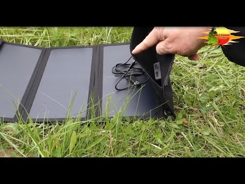 "Solarpanel, USB Solarladegerät von Anker ""PowerPort 21W"" - Solar panel, USB solar charger by Anker"