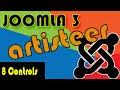 Joomla 3 Tutorials: Artsiteer Styling the Controls