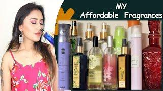 8 Body Mists 4 Body Sprays I SUPER AFFORDABLE Under Rs 1000 Women FRAGRANCES 2020 I Tumpa Banerjee