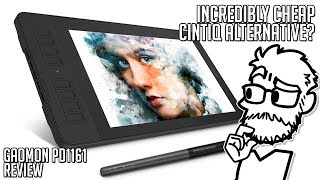 An incredibly cheap Cintiq alternative || Review: GAOMON PD1161 Pen Display