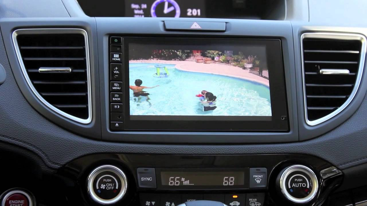 2015 honda cr v hdmi input youtube. Black Bedroom Furniture Sets. Home Design Ideas
