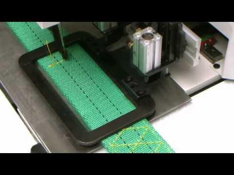 bartack pattern sewing machine