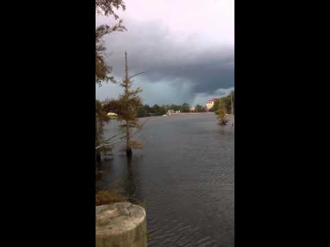 Rare Tornado: Original Raw Footage of huge violent tornado in Monroe, Louisiana (Oct. 13, 2014)