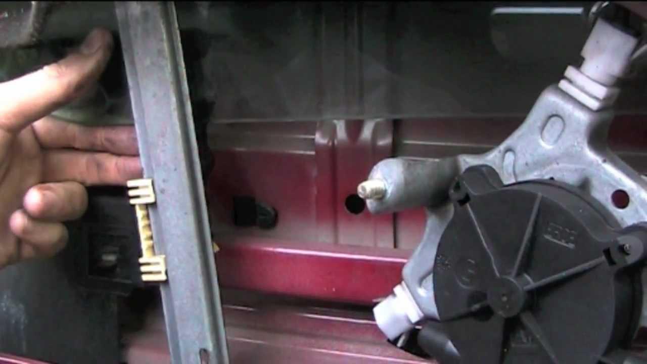 Renault Megane Window Motor Wiring Diagram Ge Dryer Online Clio Electric Removal - Youtube