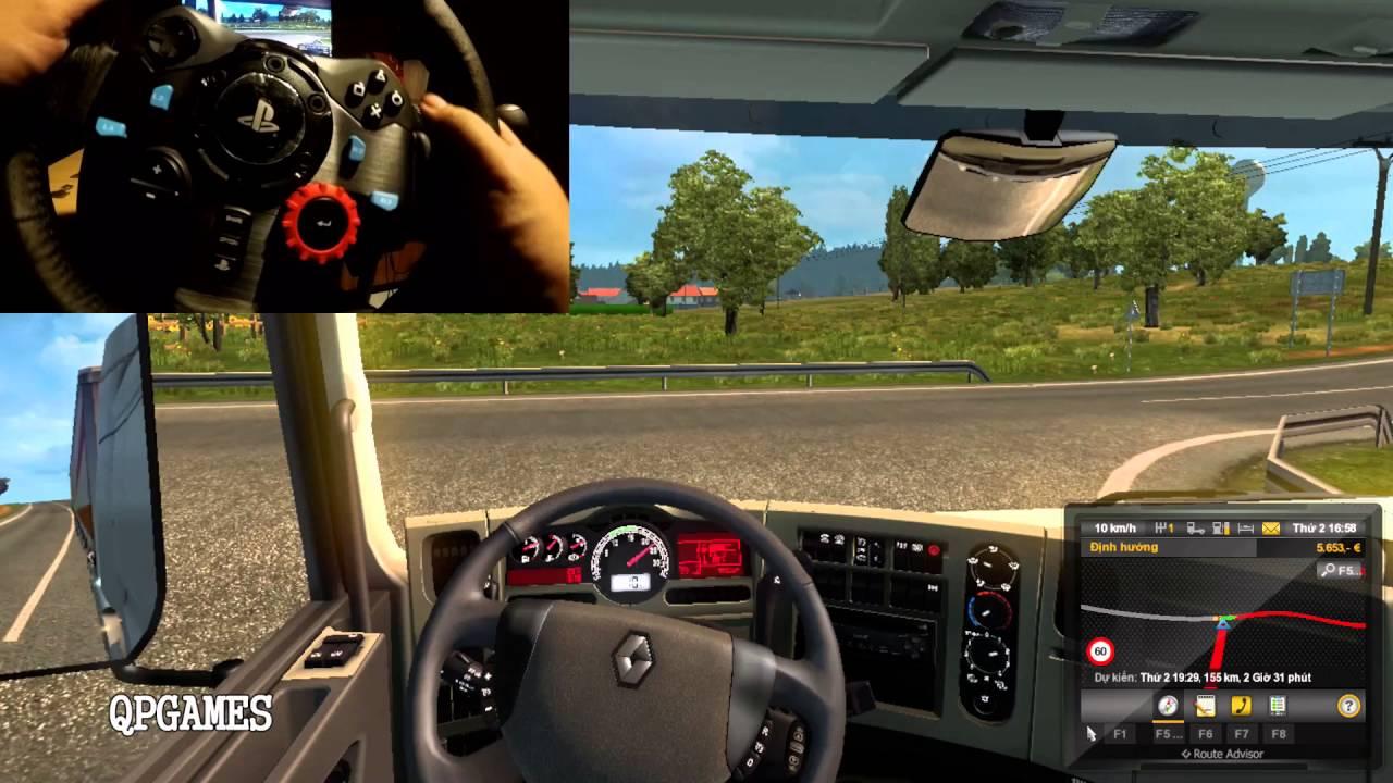 96a7d3e5455 Euro Truck Simulator 2 Gopro Wheelcam Logitech G29 Country & Folk ...