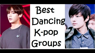 10 Best DANCING Kpop Groups (boy)