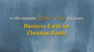 Gambar cover Business Cards for Christian Bands