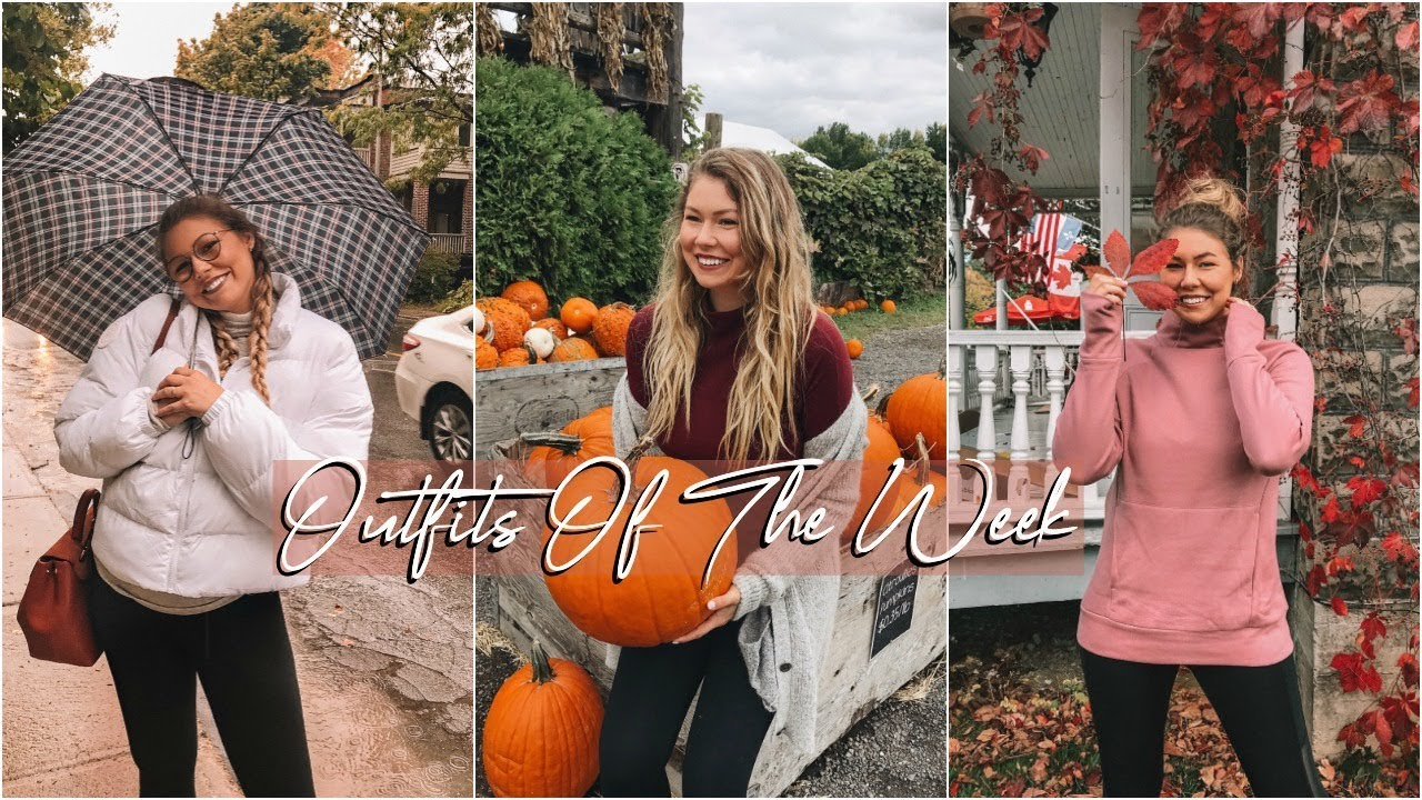 [VIDEO] - Wearing Only One Clothing Brand For a Week! // Fall Outfits 1