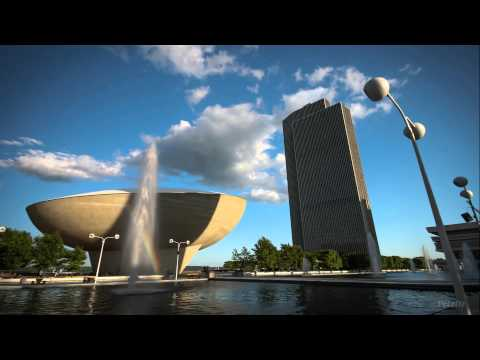 Albany, New York - Time Lapse - A Small Glimpse Of Summer.