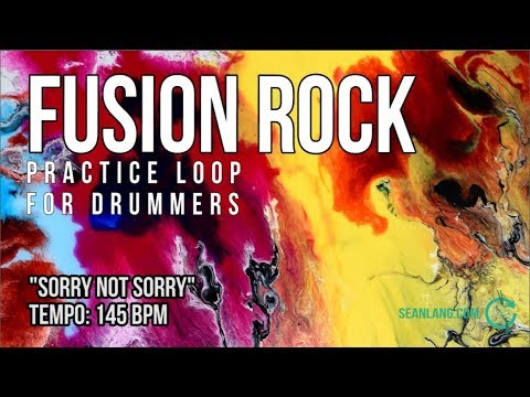 Fusion Rock - Drumless Track For Drummers -