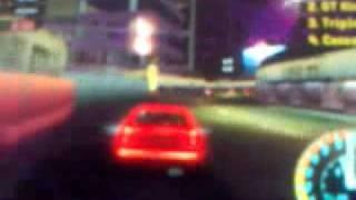 PSP Need For Speed Underground Rivals - Gameplay