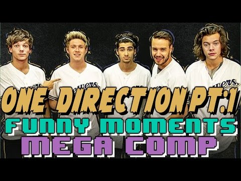 One Direction 1D Funny Moments Crack Humor MEGA COMP Pt:2