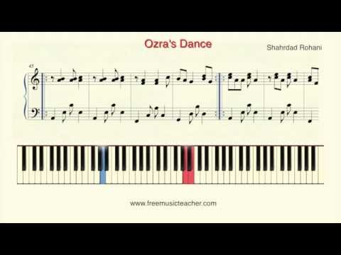 "How To Play Piano: Shahrdad Rohani ""Ozra's Dance"" Piano Tutorial by Ramin Yousefi"