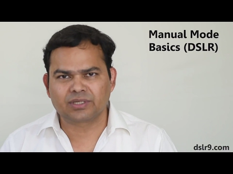 Basics of DSLR Manual Mode (Hindi) - How to Shoot in Manual Mode - 동영상