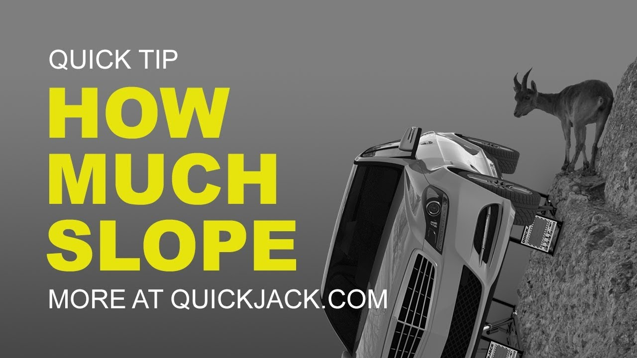 Quick Jack Com >> QuickJack Do's and Don'ts: Driveway Lifting - YouTube