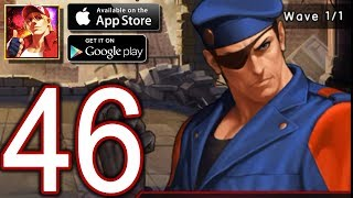 KOF '98 Ultimate Match Online Android iOS Walkthrough   Part 46   Fighter Biography   Ikari of the I