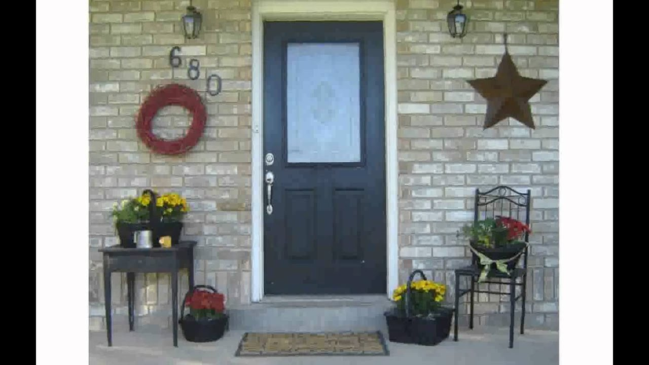 Front Porches On Homes - YouTube