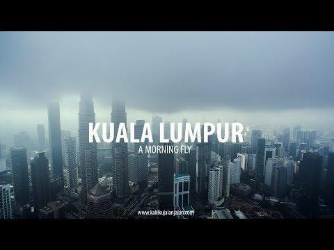 KUALA LUMPUR - THE EXCHANGE  106 TOWER / TRX / KLCC  7AM Aerial Morning Fog