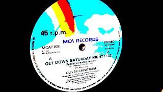 Oliver Cheatham  - Get down Saturday night. 1983