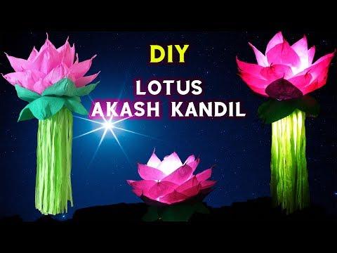 Lotus Akash Kandil