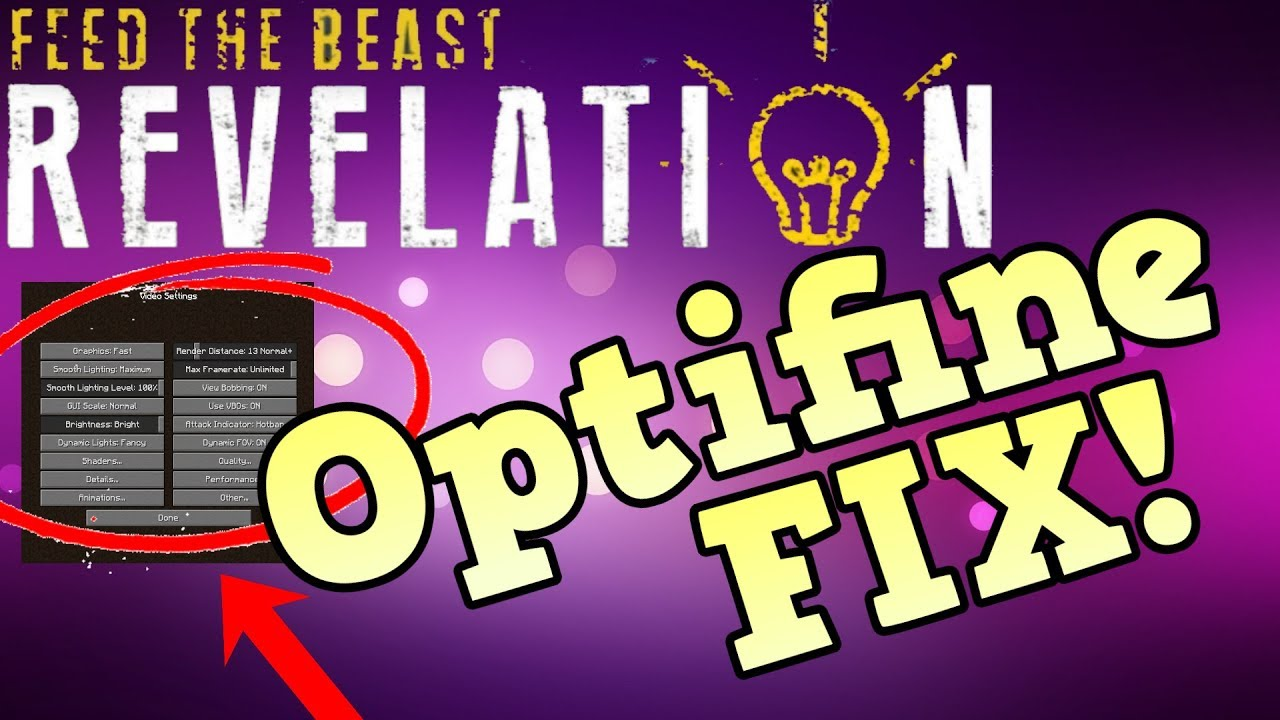 How to Install and Fix Optifine 1 12 2 For FTB Revelation (Easy/Simple)  (Video Setting Fix)