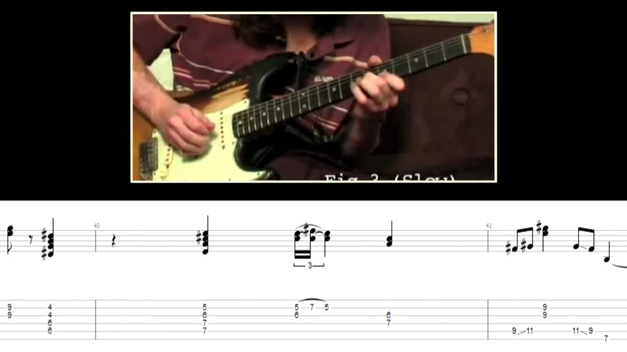 how to play under the bridge on guitar tabs