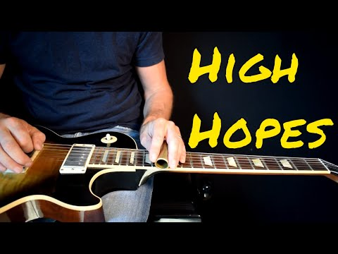 Pink Floyd - High Hopes solo cover mp3