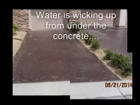 Las Vegas Concrete Driveway Wash Stain Acid Etch Paint H C 2017
